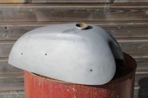 Aérogommage métal