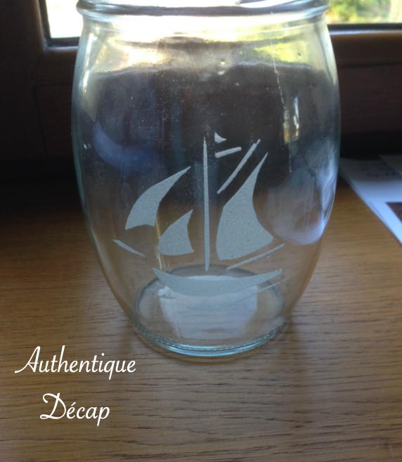 Décore sur verre